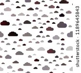 dark red vector seamless layout ... | Shutterstock .eps vector #1189645843