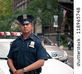 new york city   jun 27  nypd... | Shutterstock . vector #118965748