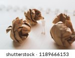 crumpled paper with miniature... | Shutterstock . vector #1189666153