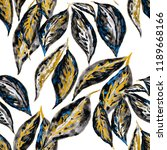 watercolor seamless pattern... | Shutterstock . vector #1189668166
