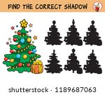 christmas tree. find the... | Shutterstock .eps vector #1189687063