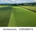 an amish farmer and his four... | Shutterstock . vector #1189688476
