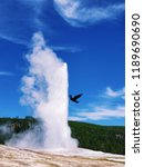old faithful was the first...   Shutterstock . vector #1189690690