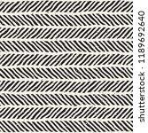 simple ink geometric pattern.... | Shutterstock .eps vector #1189692640