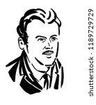paul adrien maurice dirac... | Shutterstock . vector #1189729729