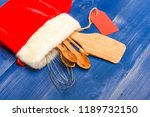 kitchen accessories for cooking ...   Shutterstock . vector #1189732150