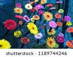 autumn outdoor floral...   Shutterstock . vector #1189744246