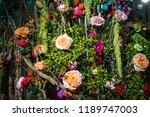 autumn indoor floral decorations   Shutterstock . vector #1189747003