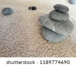abstract smooth round pebbles... | Shutterstock . vector #1189774690
