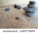 abstract smooth round pebbles... | Shutterstock . vector #1189774693