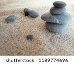 abstract smooth round pebbles... | Shutterstock . vector #1189774696