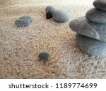 abstract smooth round pebbles... | Shutterstock . vector #1189774699