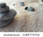 abstract smooth round pebbles... | Shutterstock . vector #1189774723