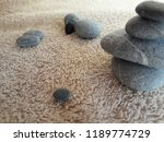 abstract smooth round pebbles... | Shutterstock . vector #1189774729