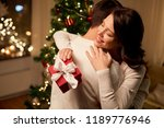 winter holidays and people... | Shutterstock . vector #1189776946