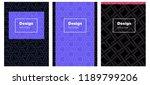dark multicolor vector...   Shutterstock .eps vector #1189799206