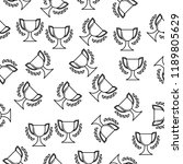 cup icon in pattern style. one...