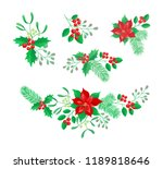 vector set of vector set of... | Shutterstock .eps vector #1189818646