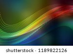 dark multicolor vector texture... | Shutterstock .eps vector #1189822126