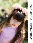 very beautiful elf girl.... | Shutterstock . vector #1189842253