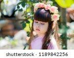 very beautiful elf girl.... | Shutterstock . vector #1189842256