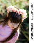 very beautiful elf girl.... | Shutterstock . vector #1189842280