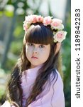 very beautiful elf girl.... | Shutterstock . vector #1189842283