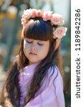 very beautiful elf girl.... | Shutterstock . vector #1189842286