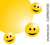 smile face background or... | Shutterstock .eps vector #1189865530
