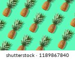 colorful fruit pattern of fresh ... | Shutterstock . vector #1189867840