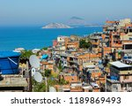 landscape of the cantagalo...   Shutterstock . vector #1189869493