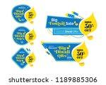 diwali festival offer banner ...   Shutterstock .eps vector #1189885306