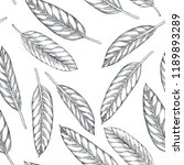 vector seamless pattern with... | Shutterstock .eps vector #1189893289