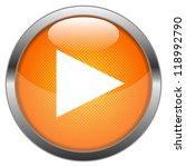vector button play | Shutterstock .eps vector #118992790
