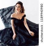 portrait of beautiful woman... | Shutterstock . vector #1189940980