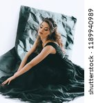 portrait of beautiful woman... | Shutterstock . vector #1189940989