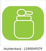 food vector icon | Shutterstock .eps vector #1190049379