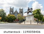 j.e.b. stuart memorial on... | Shutterstock . vector #1190058406