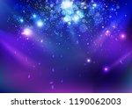 celebration  event  stars dust... | Shutterstock .eps vector #1190062003