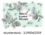 set card template with pattern... | Shutterstock .eps vector #1190062339