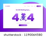 landing page template of 404...
