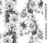 abstract elegance seamless... | Shutterstock . vector #1190068519