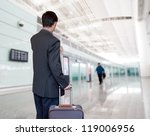 business man at airport | Shutterstock . vector #119006956