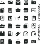 solid black flat icon set... | Shutterstock .eps vector #1190070559