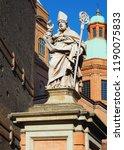 saint or st. petronius statue... | Shutterstock . vector #1190075833