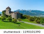 beautiful architecture at vaduz ...   Shutterstock . vector #1190101390