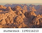 dawn summit early morning in... | Shutterstock . vector #1190116213