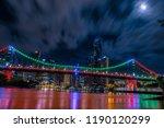 from below shot of clouds... | Shutterstock . vector #1190120299