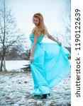 winter holiday concept.... | Shutterstock . vector #1190122639