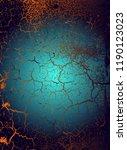 abstract vector cosmic... | Shutterstock .eps vector #1190123023